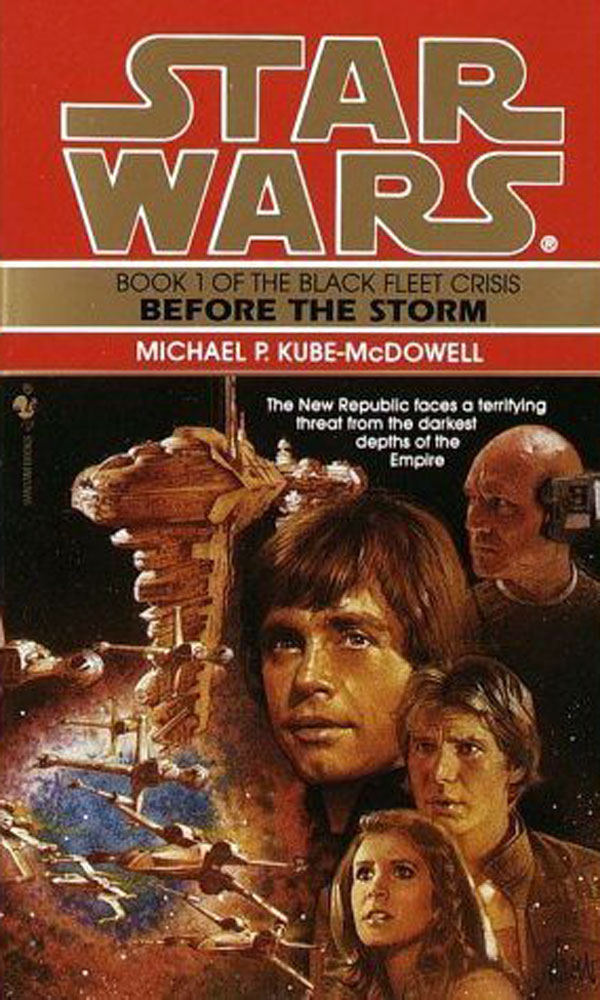 35 Best Star Wars Legends Books: Before the Storm